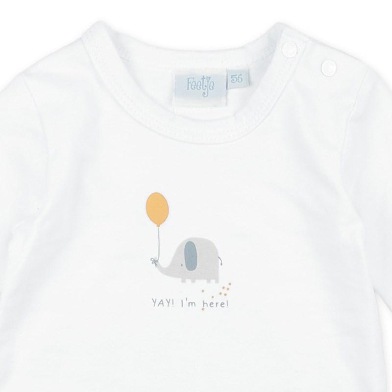 Feetje Baby Langarmshirt B/är Hello World 516.01490