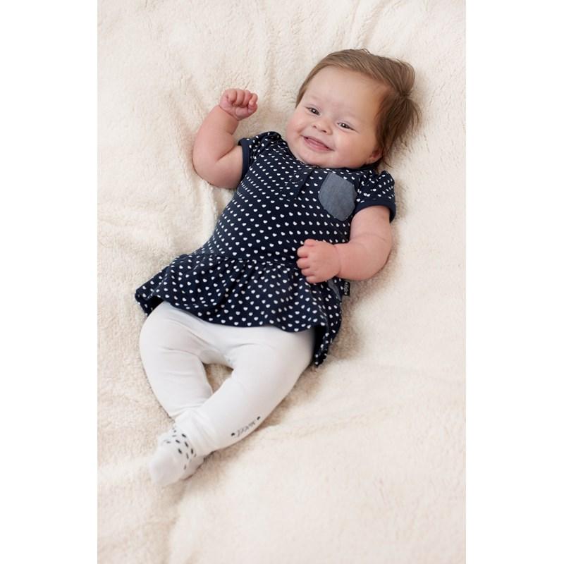 Feetje Babykleding.Polo Dress S S Aop Hearts Sweet Madame 514 00094 Feetje