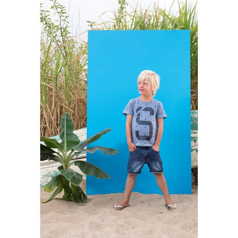 fa4d46c8769ecf T-shirt k m Shark AOP Scuba - 717.00235