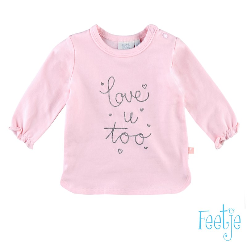L Love U Bart U A Bby: T-shirt L/m Love U Too Lovely - 516.00833